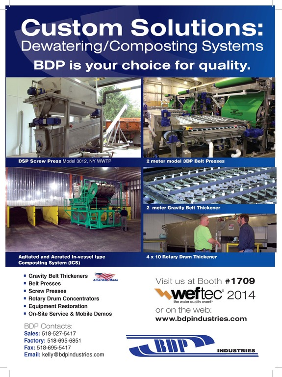 BDP Sept 14 WE&T advertisement