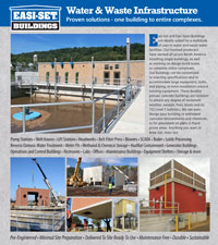 Easi-Set Water and Waste facilities prod...