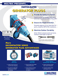Switch-Rated Generator Plugs