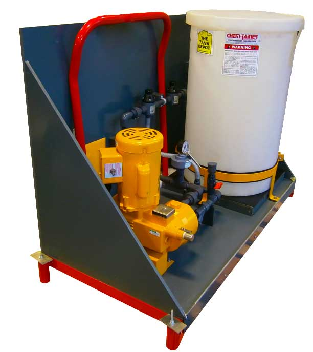 Skid-Mounted Chemical Injector Systems