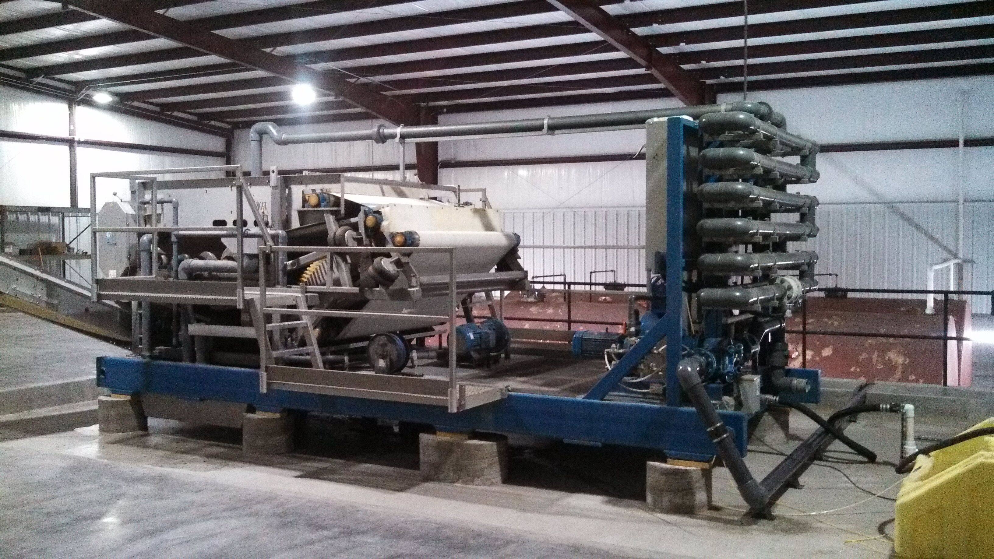 Skid Mounted Belt Filter Press
