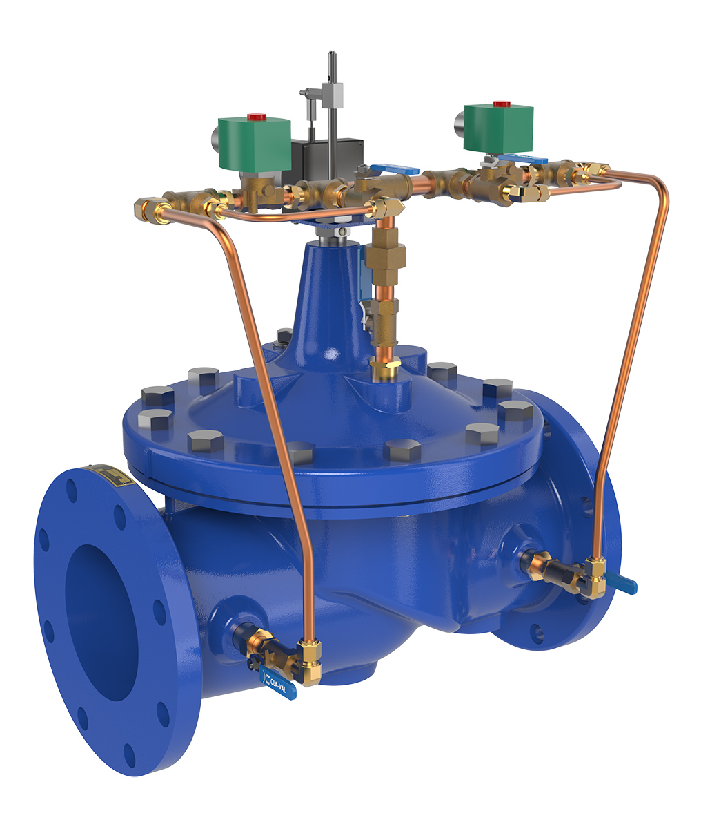 Cla-Val Electronic Control Valves