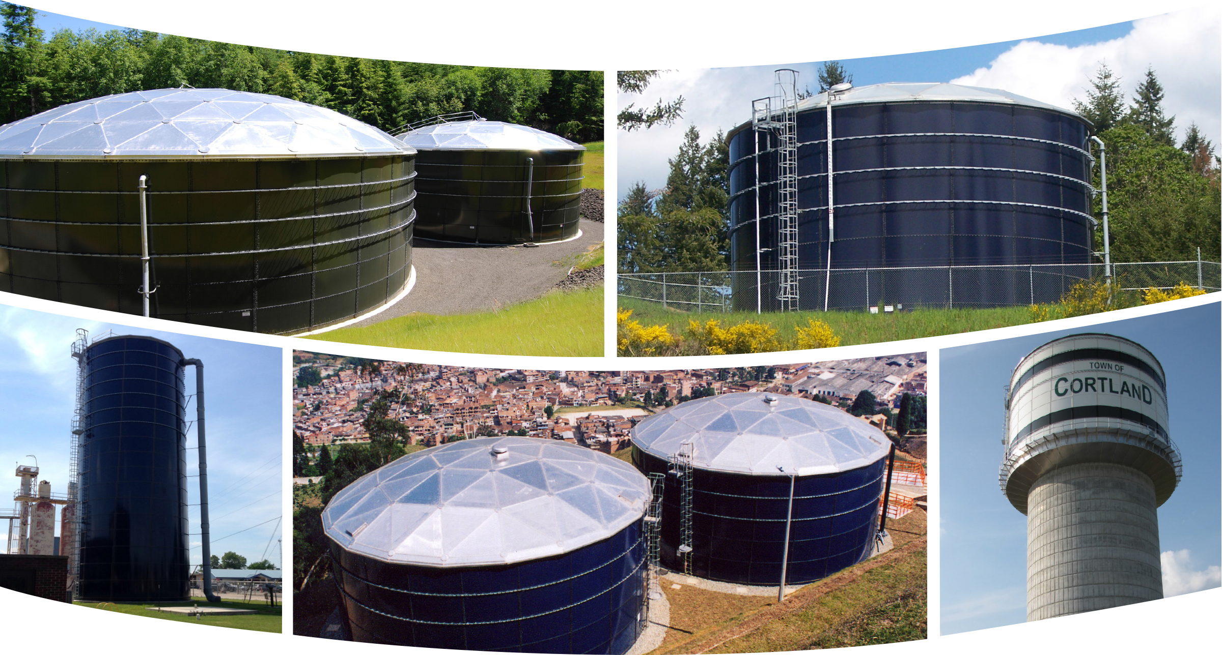 Glass-Fused-To-Steel Bolted Storage Tank...