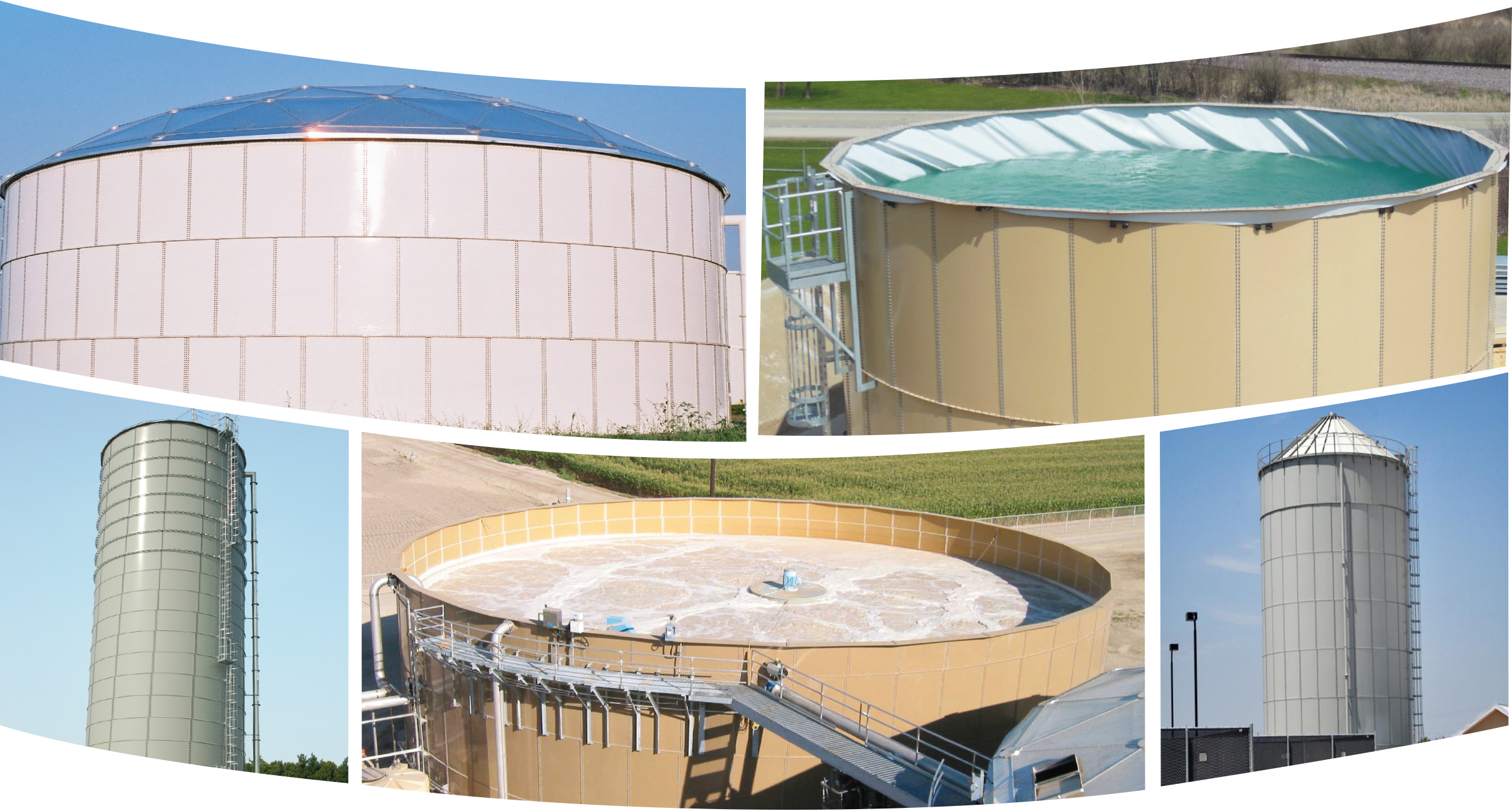 Epoxy Coated Bolted Steel Storage Tanks