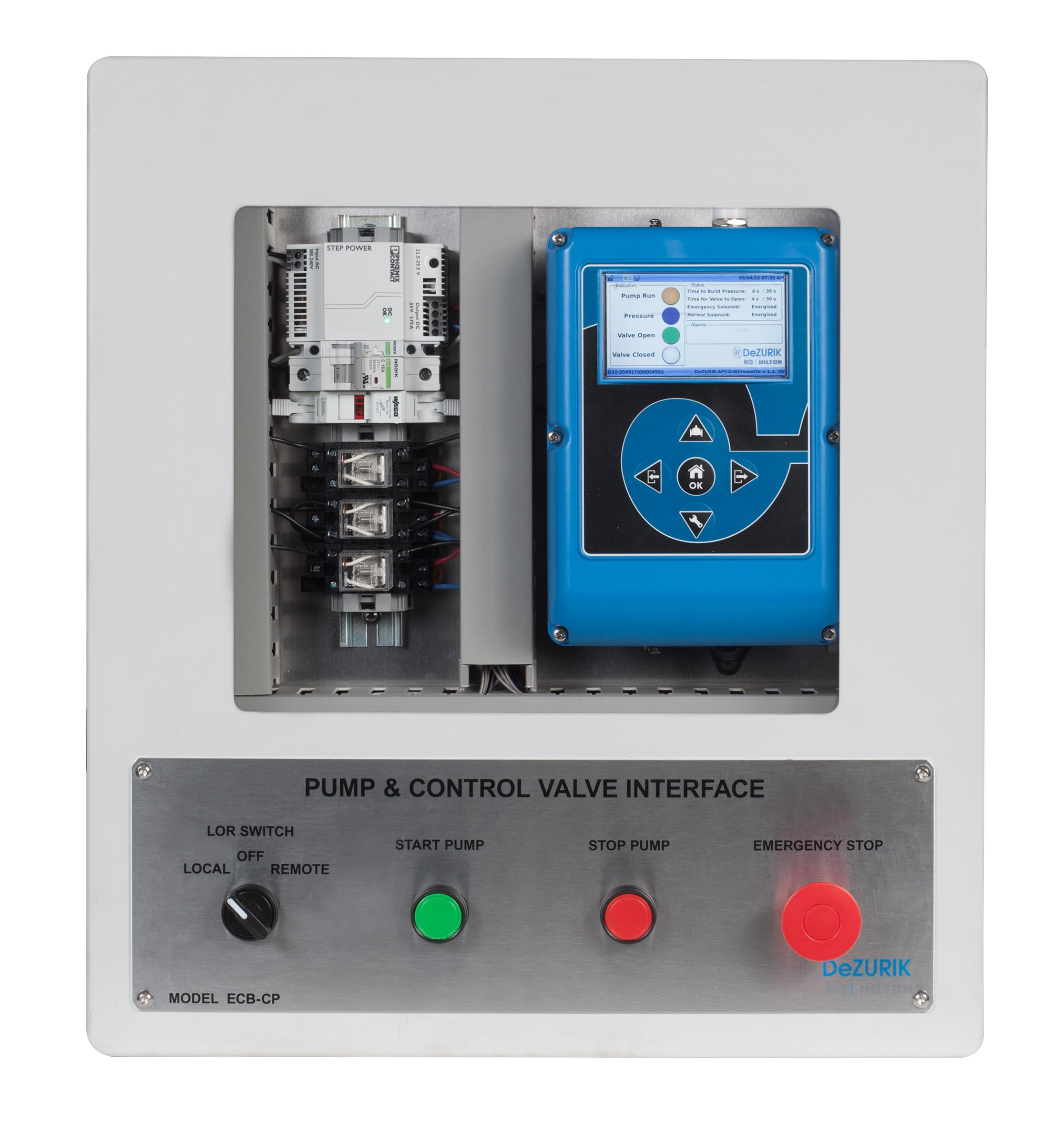 DeZURIK Pump Control Valve Interface (EC...