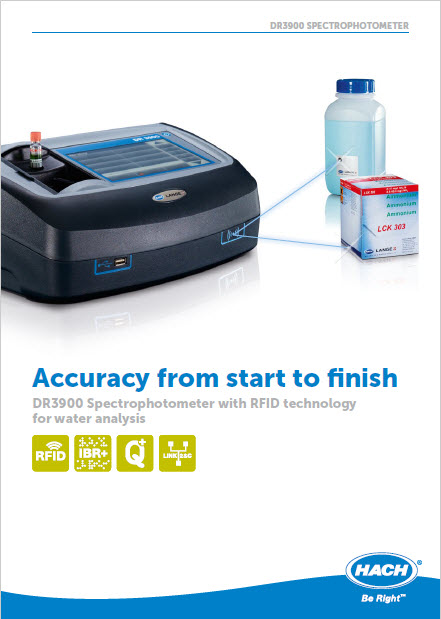 DR3900 Spectrophotometer with RFID techn...
