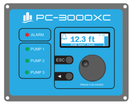 PC-3000XX 1-3 Pump Controller