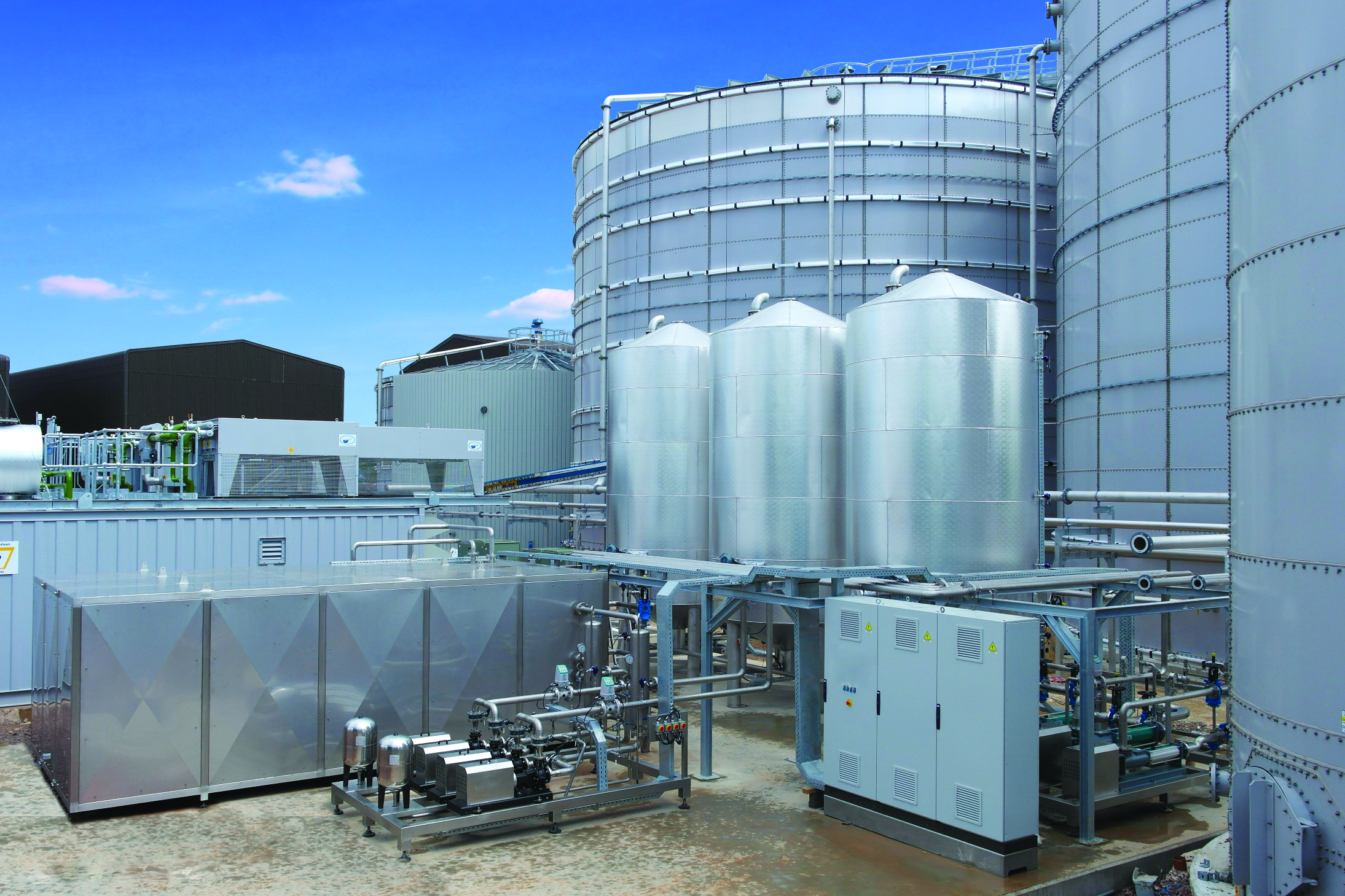 Sludge Pasteurization Systems