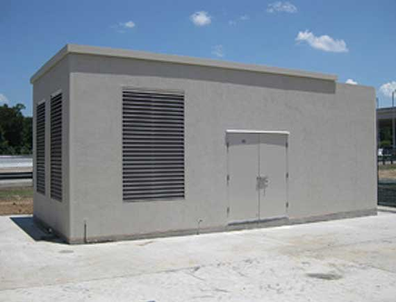 Generator and Battery enclosure building...