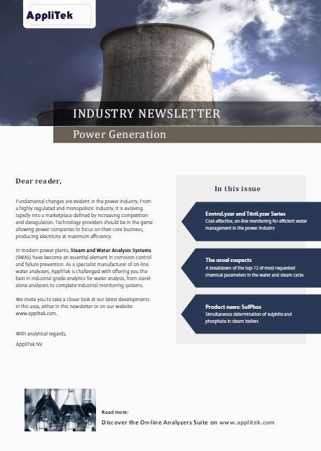 Industry Newsletter Power Generation - A...