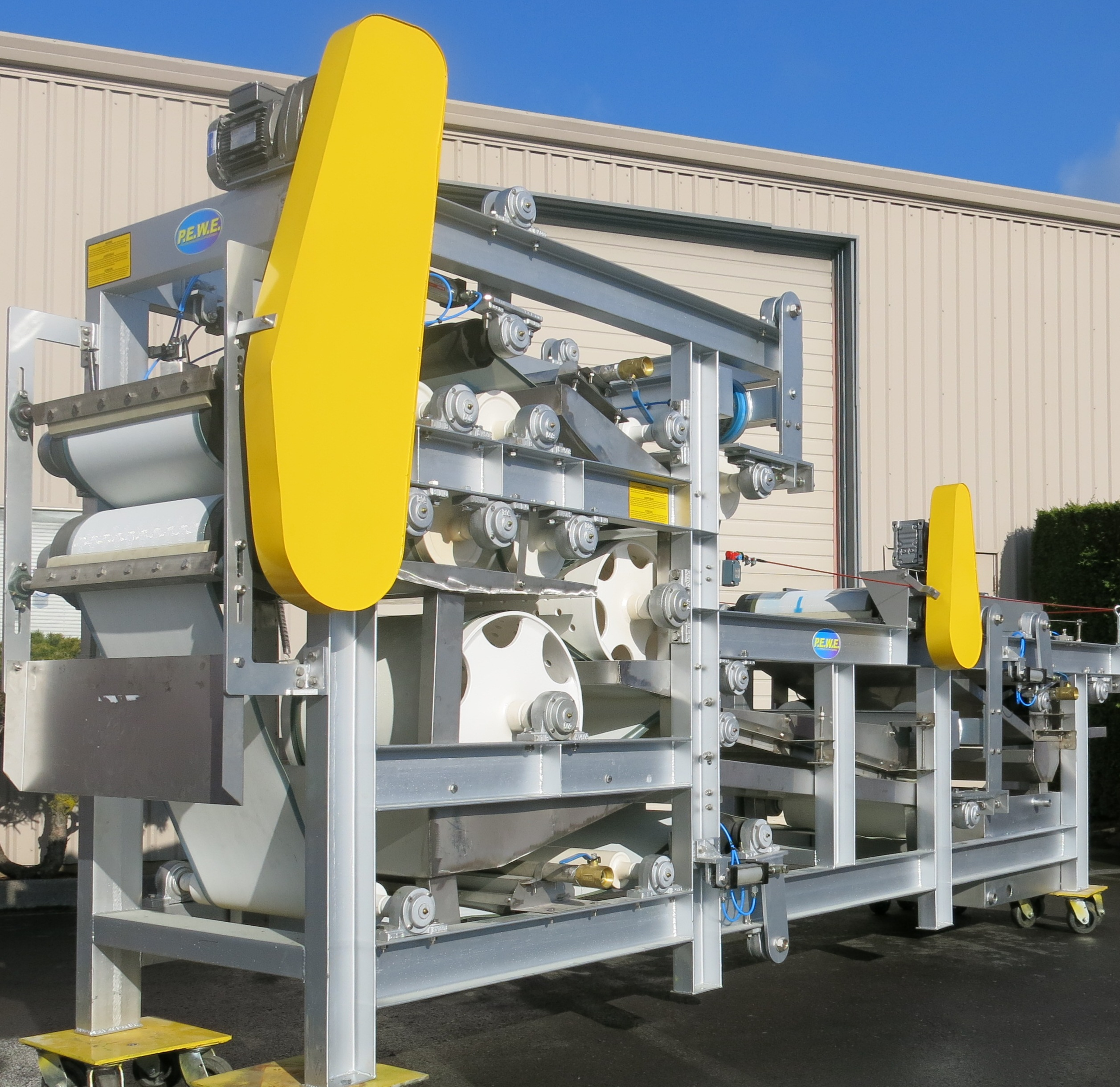 DeWater Systems DBP Belt Filter Press