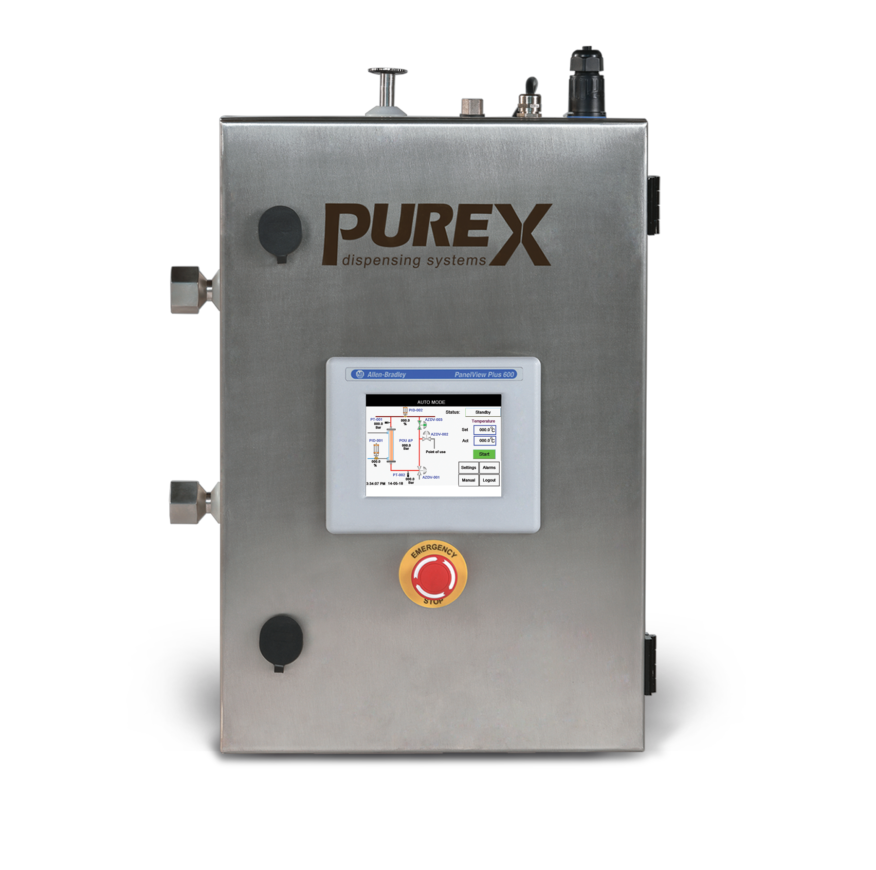 PUREX Point-of-Use WFI/PW Dispensing Sys...